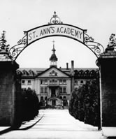 St. Ann's Academy is an historcal landmark