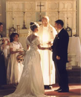 Wedding at St. Ann's Academy